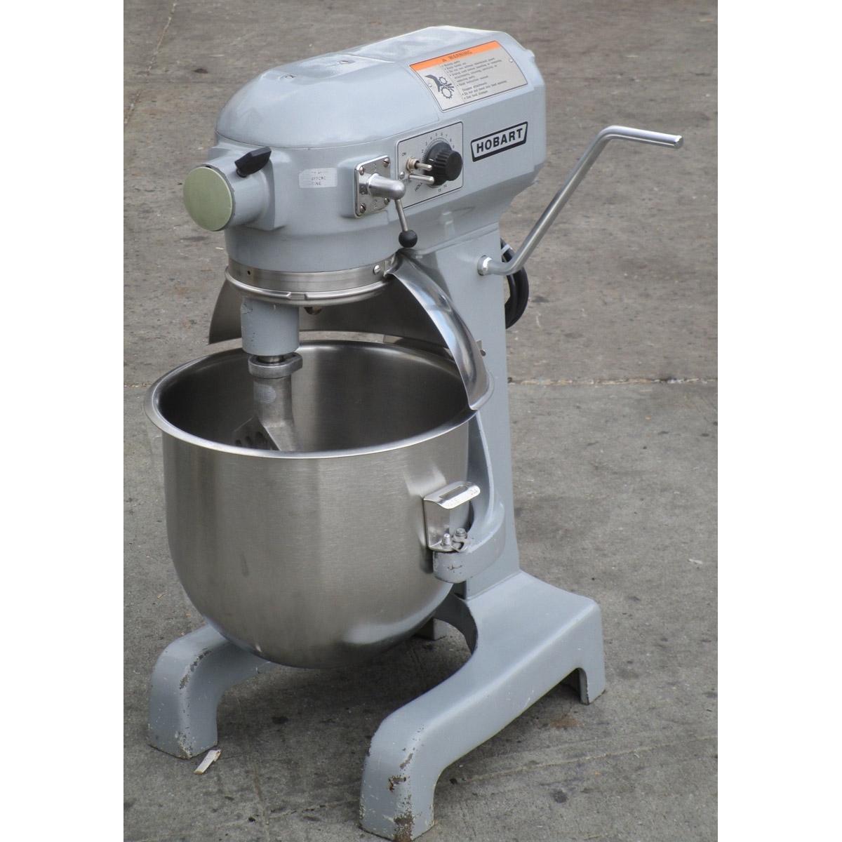 Hobart-Quart-A-t-Mixer-Without-Cage-Very-Good-Condition Product Image 792