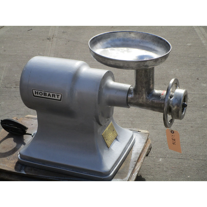 Hobart-Meat-Grinder-Model-Excellent-Condition Product Image 1236