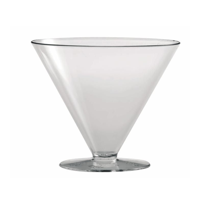 Martellato Round Champagne-Shape Dessert Cup, 100 Pieces PMOCO005