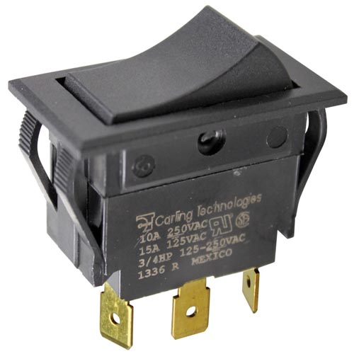 On/Off/On Rocker Switch - 15A, 125/277V 42-1339