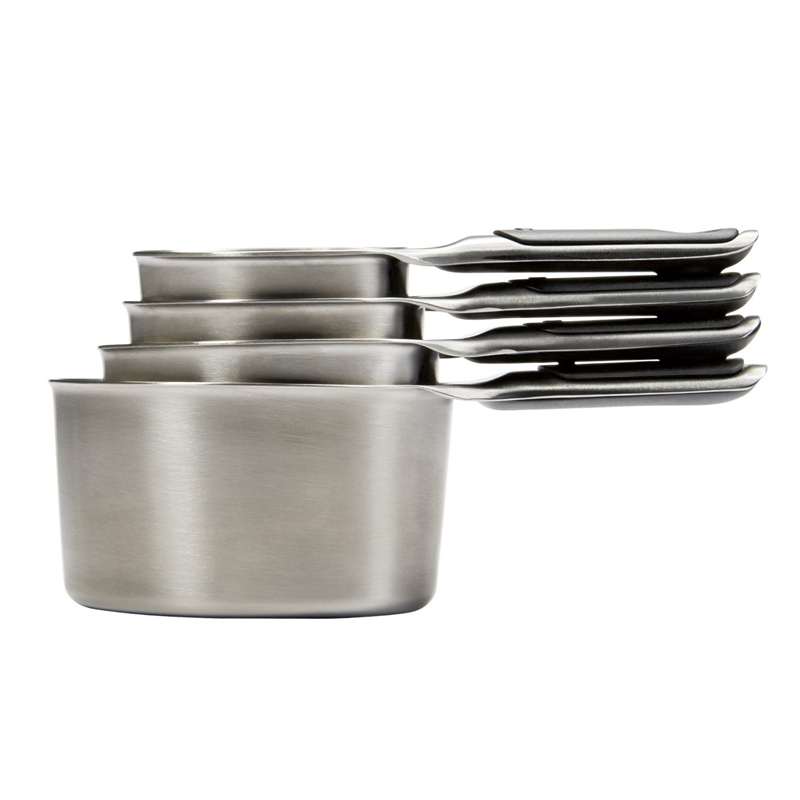 OXO Good Grips Stainless Steel Measuring Cups with Magnetic Snaps 11132000