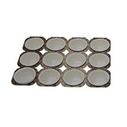Paper Muffin Baking Tray 3.5 Oz, 12 Cavities MT424-6X12