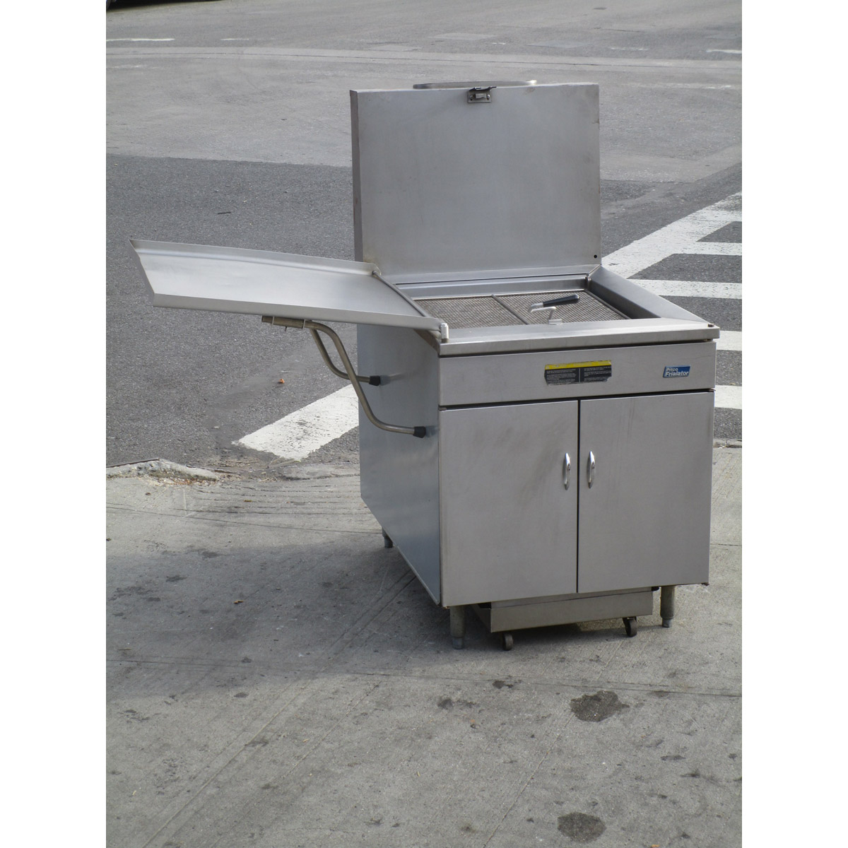Longstanding Pitco Gas Donut Fryer Filter Very Good Condition Product Photo