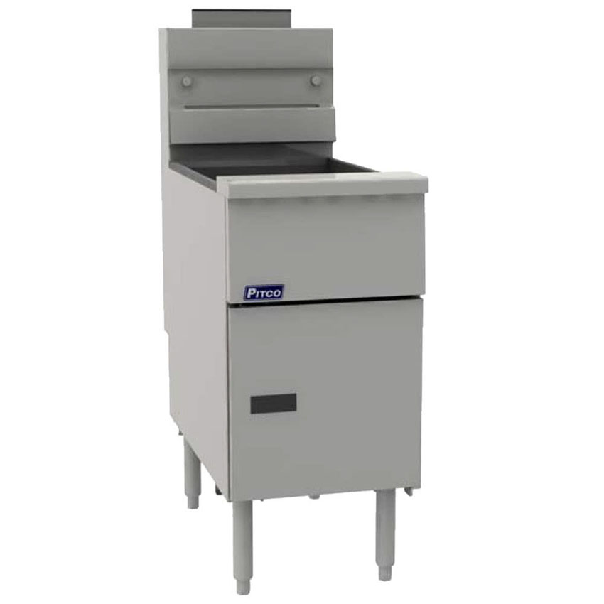 Pitco-Natural-Gas-Solstice-Lb-Stainless-Steel-Floor-Fryer-Btu Product Image 1156
