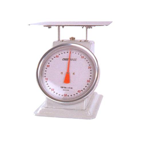 "Receiving Scale 70 lbs./90kg, 11"" diam. Dial, 12.5"" x 12.5"" platform SCSL006"