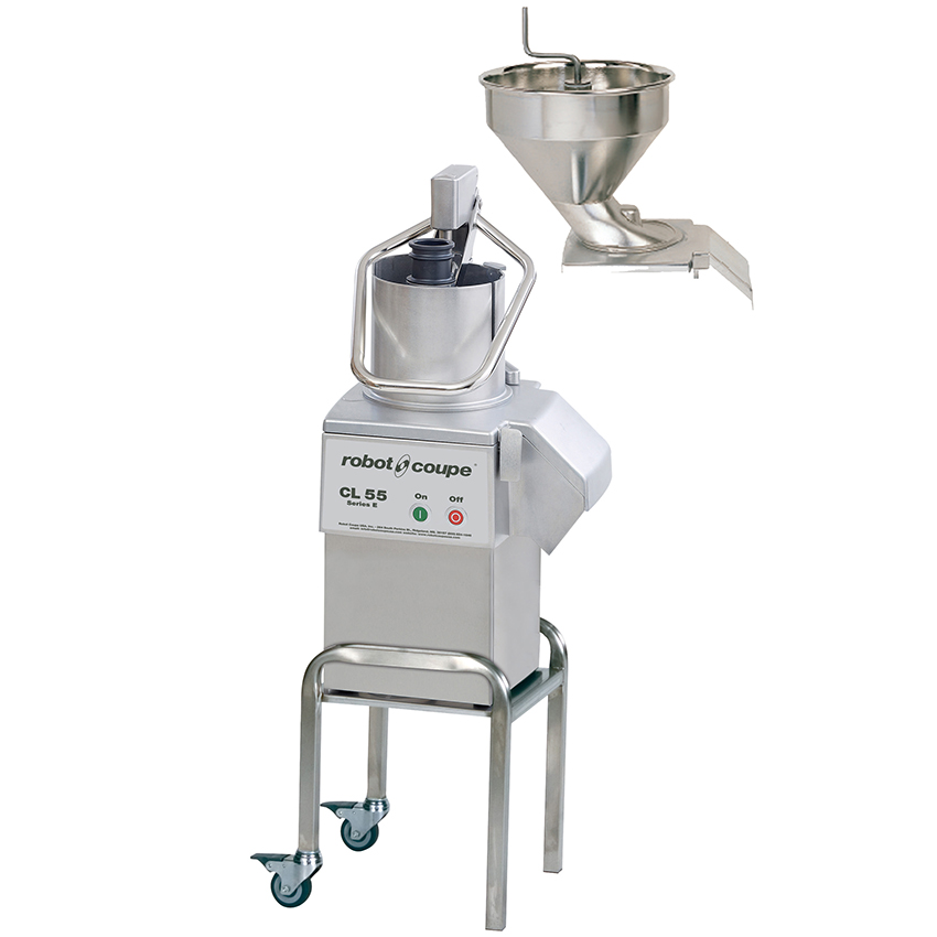 Robot coupe cl55 2fh vegetable preparation machine with 2 feedheads food processors bakedeco com - Robot coupe ice cream maker ...
