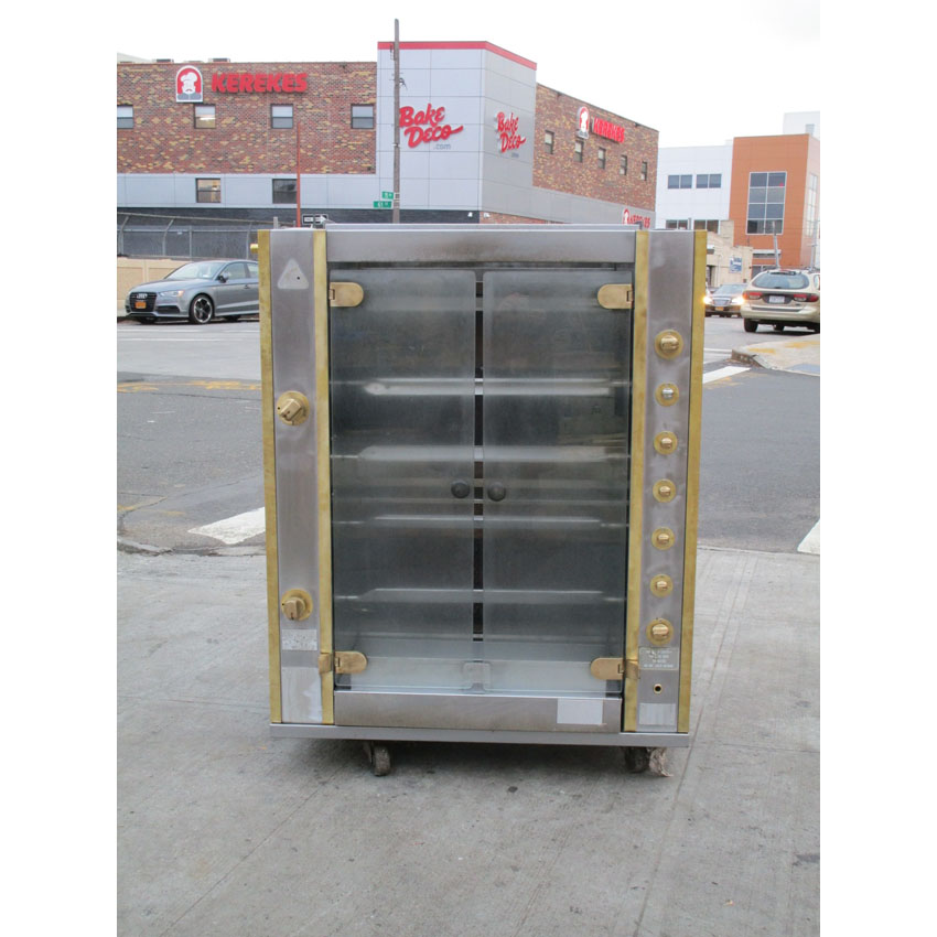 Rotisol 5 Spits Gas Rotisserie Model 950/5, Good Condition 950/5