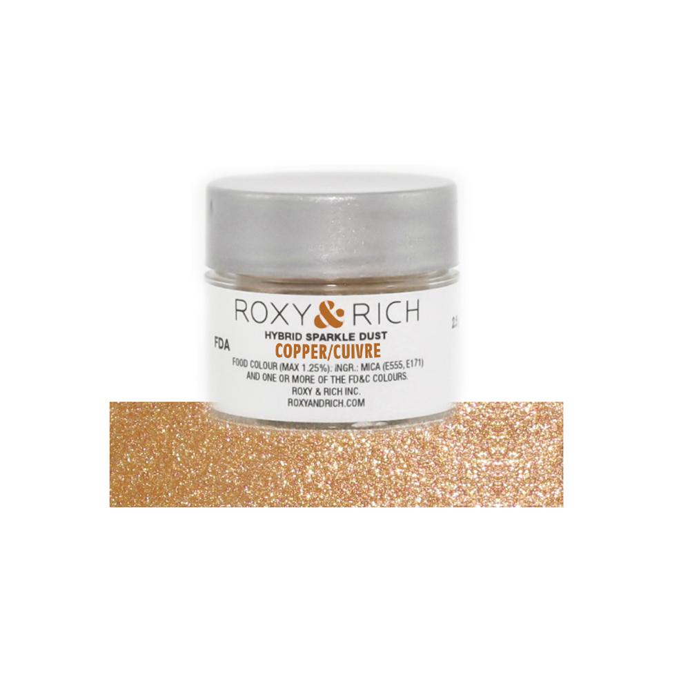 Dark Silver Hybrid Sparkle Dust 2.5 Grams Roxy /& Rich