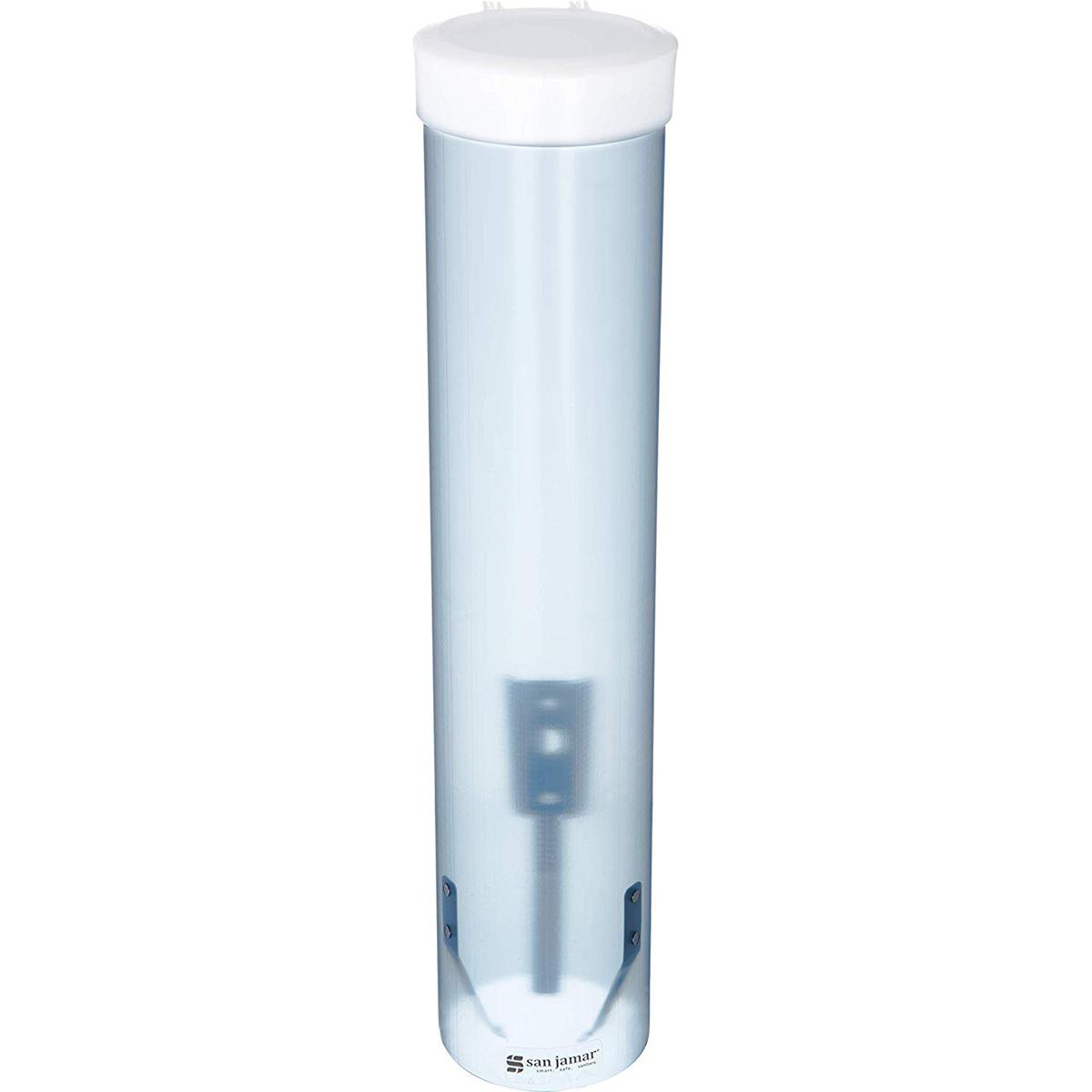 Flat bottom cup dispenser
