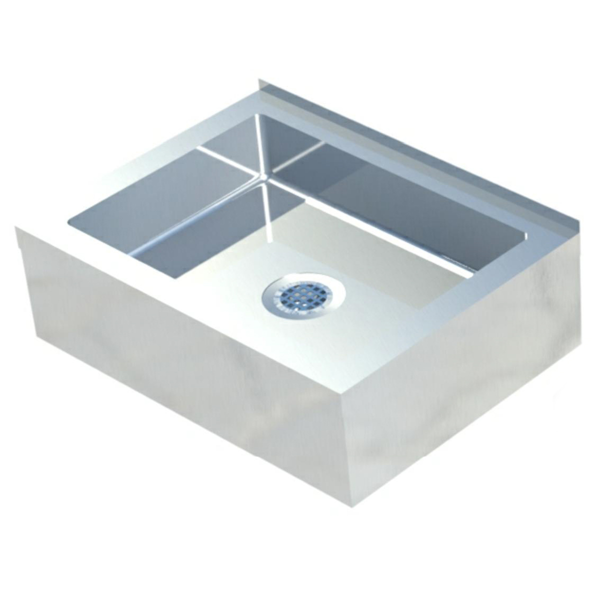 - Sapphire SMMS-331 Mop Sink 33 Left To Right X 25 Front To Back, 6