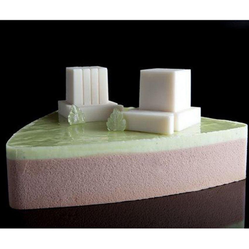 Silicone Mold Tefillin, 6 Cavities (3 Arm Tefillin, 3 Head Tefillin), Cube  of Each Cavity Measuring 1-1/2