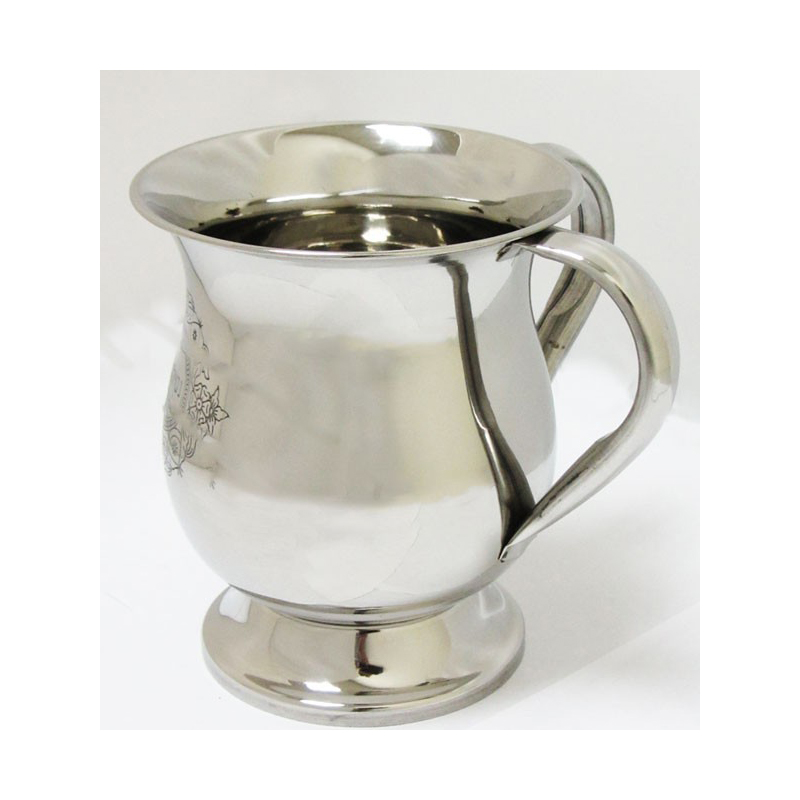 Stainless Steel Wash Cup with Handles