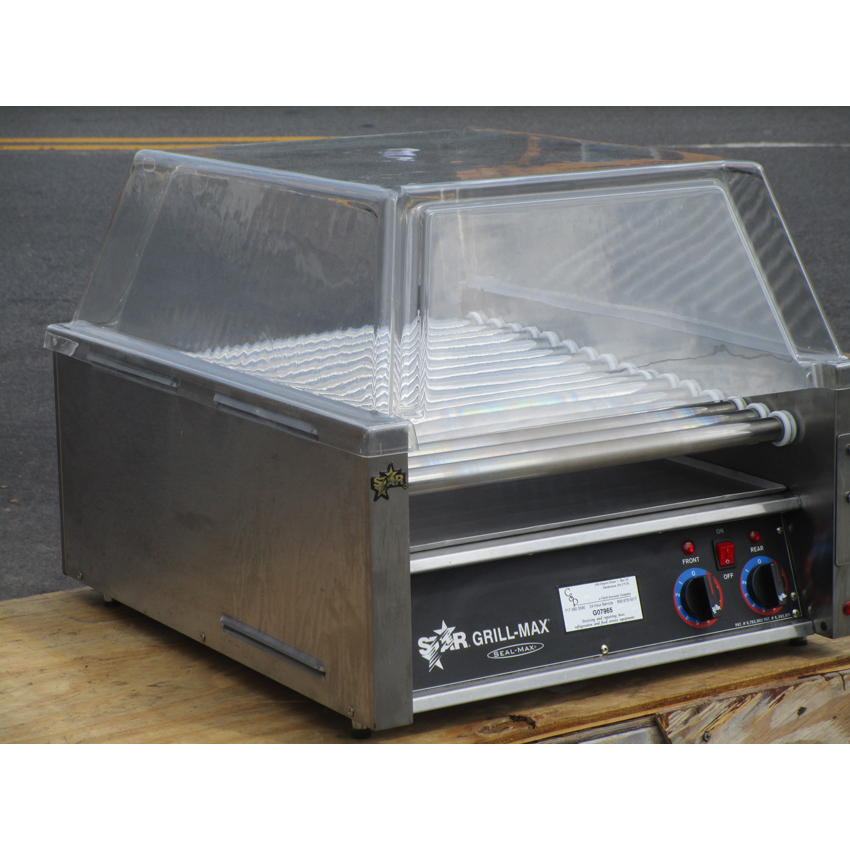 Star 45C Hot Dog Roller Grill Slanted Top Excellent Condition 45C