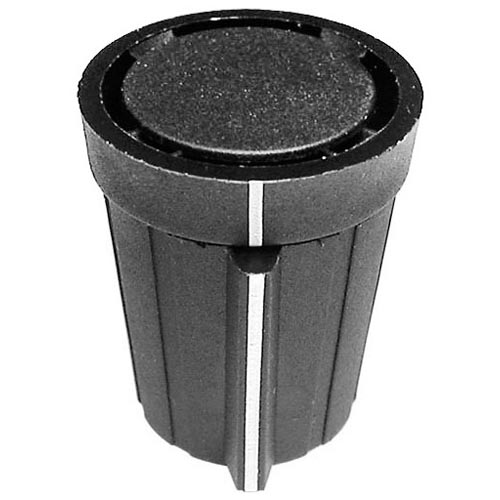 Star MFG OEM # SP-115360 / 115360 / SP115360, Black Toaster Knob Assembly SP-115360 / 115360 / SP115360