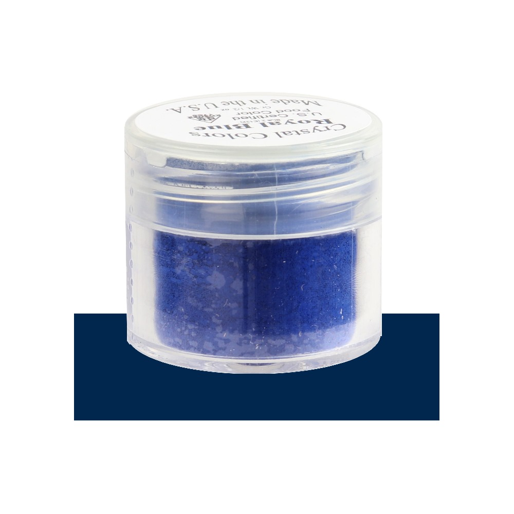 Sugarpaste Crystal Color Royal Blue Powder Food Coloring, 2.75 Grams