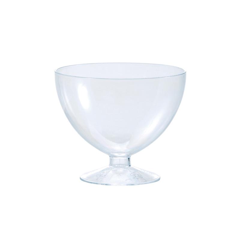 "Transparent Dessert Cup 3.5"" Dia. x 3.0"" High, 175ml (5.9 oz.) PMOCO004"