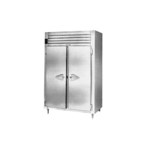 Purchase Traulsen Cu Ft Two Section Solid Door Shallow Depth Reach Refrigerator Specifica Product Photo