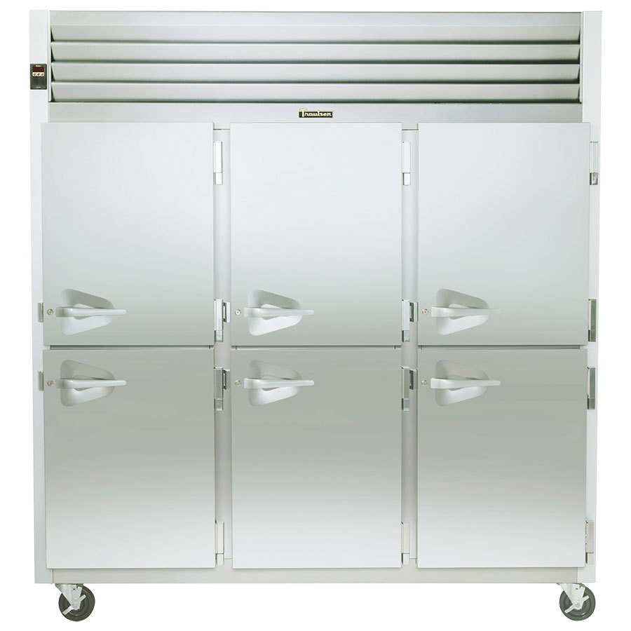 Traulsen Section Half Door Reach Refrigerator Right Hinged Doors