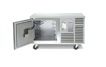 Exquisite Traulsen Spec Line Undercounter Pan Blast Chiller Left Hinged Door Casters St Product Photo