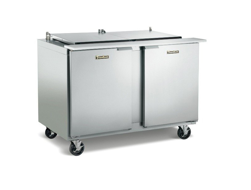 Tasteful Traulsen Pan Sandwich Salad Prep Table Left Left Hinged Doors Stainless St Product Photo