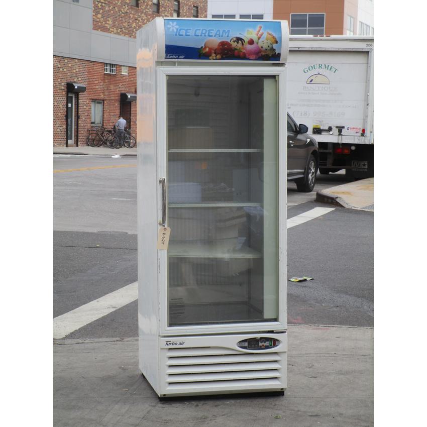 Turbo Air Single Glass Door Reach Freezer Good Condition Product Photo