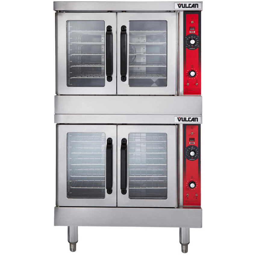 Vulcan Double Deck Full Size Electric Convection Oven v Phase Kw