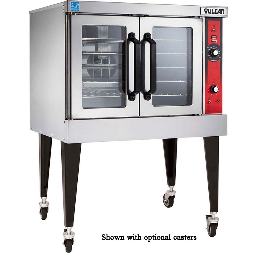 Vulcan VC5GD Single Deck Full Size Natural Gas Convection Oven - 50,000 BTU VC5GD NAT
