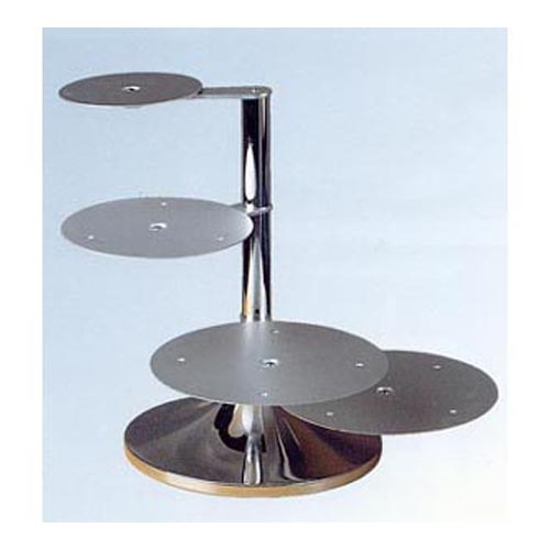 Wedding Cake Stand, Side Arm - 4 Tier