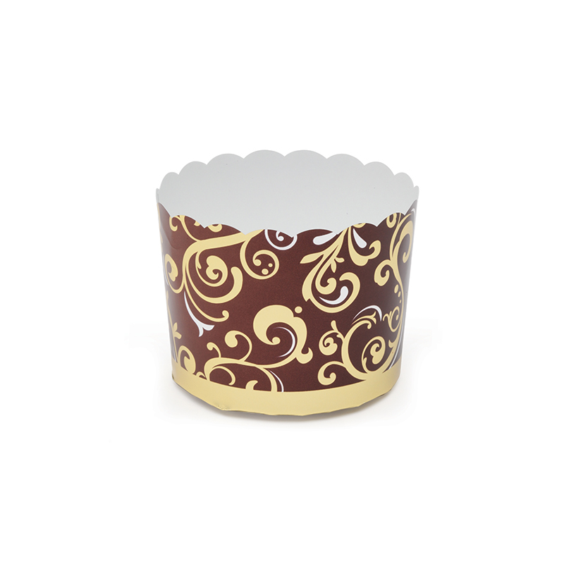 Welcome Home Brands Brown Vine Disposable Paper Baking Cup RK8816