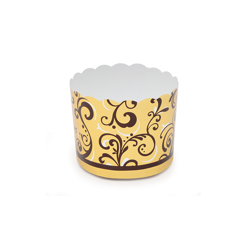 Welcome Home Brands Gold Vine Disposable Paper Baking Cup RK8817