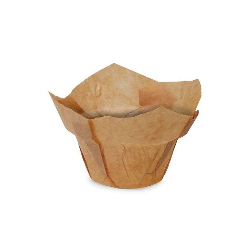 Welcome Home Brands Low Crown Wraps Paper Baking Cup - 2 inch diameter x 3.25 inch high