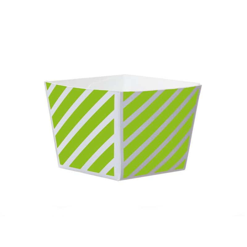 Welcome-Brands-Modern-Cube-Paper-Baking-Cup-Lime-Cooler Product Image 2352