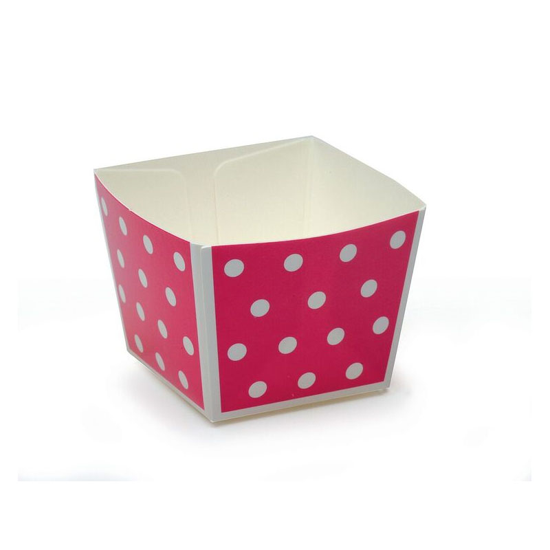 Welcome-Brands-Modern-Cube-Paper-Baking-Cup-Dots-Capacity Product Image 2351
