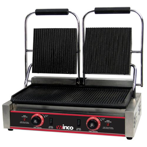 Winco-Double-Electric-Panini-Grill Product Image 1844