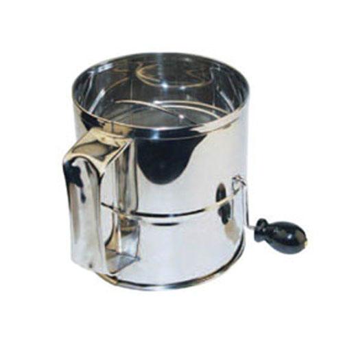 Winco Rotary Flour Sifter RFS-8