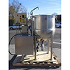 Cleveland Cook Chill Horizontal Agitator Mixer Kettle 100 Galon , Fulton Classic  ICS -10 Vertical Tubeless Boiler - Used Condition