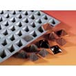 de Buyer Elastomoule Mini Pyramids, 24 Cavities 3.5cmx3.5cm x 2.5cm High