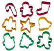 Wilton Holiday Cookie Cutters, Set of 9 Cutters