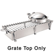 "Eastern Tabletop Stainless Steel Grate Top - 38"" x 13"""