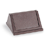 Rubbermaid Untouchable Square Flip Top, Brown