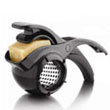 Microplane #39008 Parmesan Rotary Grater, Black