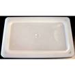 Vollrath Super Pan II Flexible Pan Lid, Translucent, 1/3 Size