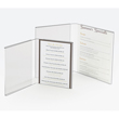 Cal-Mil Classic Open Book Acrylic Displayette, Pack of 24