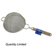 "Tinned Strainer Single Mesh 9-1/2"" Diameter"