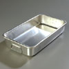"Vollrath Roast & Bake Pan Heavy Ga. Aluminum. 10-7/8"" x 19-3/4"" x 3-5/8"" High. Used As Cover for #68367 Or As Roast Pan, 11Qt"