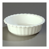 "Carlisle White Corinthian 5 lb Crock 10-1/2"", Sold as Pack of 6"