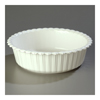 "Carlisle White Corinthian 10 lb Crock 12-1/2,"" Sold as Pack of 6"