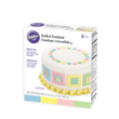 Wilton Multi-Pak Rolled Fondant, Pastel Colors, Each Color: 4.4 oz. - 710-447