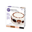 Wilton Rolled Fondant, Multi-Pak, 4 Natural Colors: Light Brown, Dark Brown, Pink, Black. Each Color: 4.4 oz. - 710-448