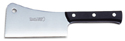 "F. Dick 7"" Meat Cleaver, Plastic Handle, Full Tang Stainless Steel Blade"